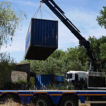 containers en terre d'utopie
