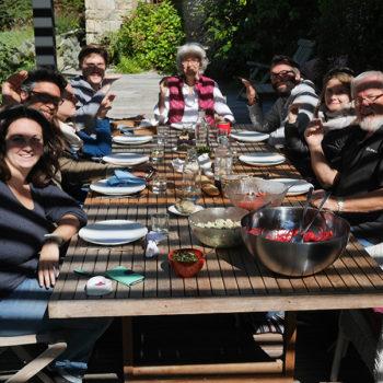 Repas partagé à la Ville Heleuc