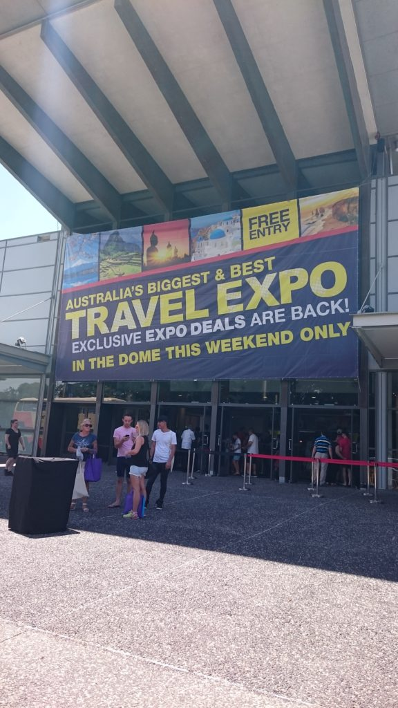 Personal thoughts after visiting the Sydney Travel Expo