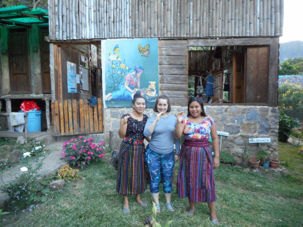 Encuentro con Elvia Cholotio, Mayachik', Guatemala