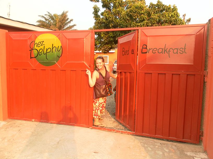 HopHost ChezDelphy Ghana tourisme citoyen