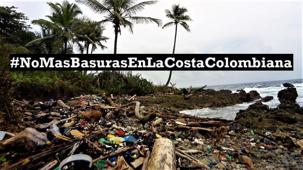 #NoMasBasurasEnLaCostaColombiana – L'appel du cœur